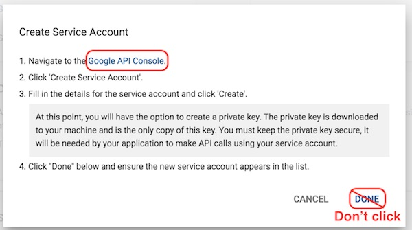 Getting Started - Configuring an Android (Google Play) app